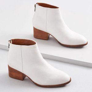 Seychelles White Booties - Size 8.5 - Brand new!